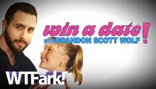 WIN A DATE WITH BRANDON SCOTT WOLF: Man Creates Dating Website For Dating Him. Only Him.