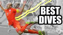 World Cup 2014 Dives - Flops or Lightning?