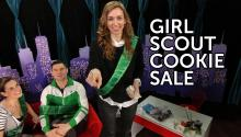 Selling Girl Scout Cookies to Celebrities