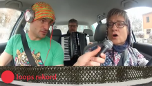Weird German Family Covers LL Cool J In Car With Accordion
