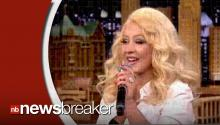 Christina Aguilera Does Spot-On Impressions of Britney Spears, Cher on Late Night with Jimmy Fallon