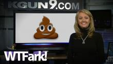 Meteorologist Starts Talking About The Poop Emoji In Super Weird News Clip