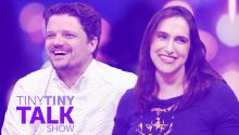 Matt Jones and Megan Amram - Tiny Tiny Talk Show