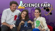 30 Second Science Fair with Matt Jones and Megan Amram