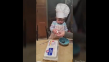 15-Month-Old Baby With An Egg Wins The Internet Today