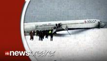 BREAKING: Delta Plane Skids Off Runway at LaGuardia Airport; All Traffic Shut Down