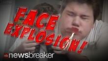 FACE EXPLOSION: Man Tapes Firecrackers to His Mouth and Lights them Up