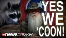 YES WE 'COON: Internet Legend Runs for Governor to Get Back Pet Raccoon