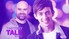 Kevin McHale and Bryan Cogman- Tiny Tiny Talk Show