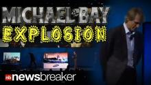 MICHAEL BAY EXPLOSION: Action Director Melts Down at CES Presentation