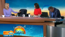 DID YOU SWALLOW? Australian Today Show Looks Way More Fun Than American Today Show