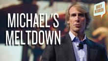 Michael Bay CES Meltdown