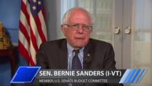 Sen. Bernie Sanders: Average American Has A Right Be Angry About Economic Plight