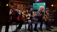 "Steel Panther Performs ""Party Like Tomorrow Is The End Of The World"""