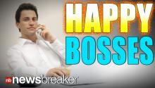 HAPPY BOSSES: New Study Reveals People in Charge Suffered Less During Recession