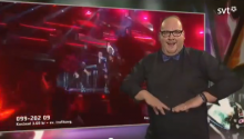 Meanwhile on Swedish Television, This Sign Language Interpreter Just Goes For It