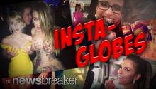 INSTA-GLOBES: Celebrities Overshare Candid Instagram Selfies from Golden Globe Awards