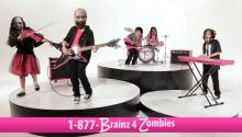 1-877-BRAINZ-4-ZOMBIES: Donate Your Brain Today!