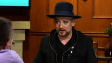 Boy George talks gay marriage and getting married