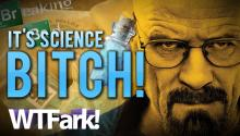 "IT'S SCIENCE, BITCH: ""Breaking Bad"" Style Blue Meth Making People Sick in Albuquerque"