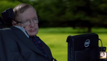 Stephen Hawking Covering Monty Python's Galaxy Song Will Make Your Day
