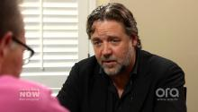 Russell Crowe Gives Larry King An Aussie Slang Education