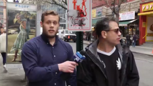 NYC Man Keeps Catcalling During Anti-Catcalling Report