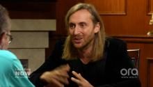 David Guetta Wants To Collaborate With Larry King?! (VIDEO)