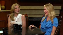 'Pitch Perfect' stars Anna Camp & Brittany Snow interview