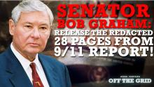 Sen. Bob Graham: Release the Redacted 28 Pages From 9/11 Report!