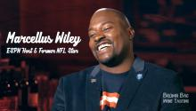 ESPN's Marcellus Wiley Talks Football, Typing & Of Course, Wine