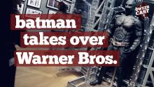 Batman Takes Over Warner Bros. VIP Tour