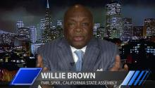 Willie Brown: Hillary Clinton Would Be President If She'd Listened to Bill in 2008