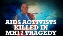 Aids Activists Killed in MH17 Tragedy