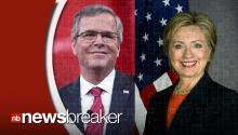 New Polls Show Low Approval of Frontrunners Hillary Clinton and Jeb Bush