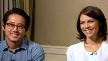 The Walking Dead: Steven Yeun & Lauren Cohan