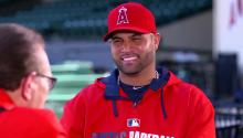 Albert Pujols interview