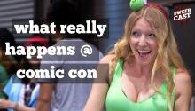What REALLY Happens at Comic Con (SONG)