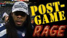 POST GAME RAGE: Seahawk Richard Sherman's Rant Goes Viral Sparking Twitter War