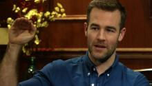 Actor James Van Der Beek Discusses Being Famous At An Early Age