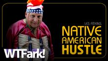 NATIVE AMERICAN HUSTLE: British Man Leaves Job At Mayo Factory To Pursue Lifelong Dream - Pretending To Be A North American Indian.