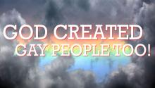 God Created Gay People Too