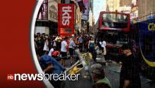 2 Double-Decker Buses Collide In NYC's Time Square, Injuries Reported