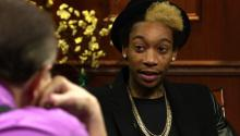 Hip Hop Artist Wiz Khalifa Discusses Hip Hop and Praises Eminem