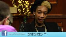 Hip Hop Artist Wiz Khalifa Answers Social Media Questions