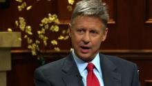 Libertarian Presidential Candidate Gary Johnson On What He Expects from the Obama and Romney Debates