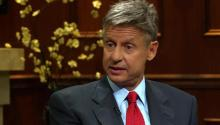 Libertarian Presidential Candidate Gary Johnson Blasts CNBC and the RNC for Shutting Him Out