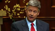 Libertarian Presidential Candidate Gary Johnson On Libertarian Policies Fiscally Responsible, Socially Accepting and Pro Drugs
