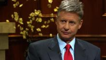 Libertarian Presidential Candidate Gary JohnsonSays Nothing Obama Says Matches Up With Reality
