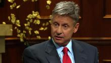 Libertarian Presidential Candidate Gary Johnson Says Young People Will Feel Screwed